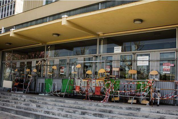 L'université de Paris-Nanterre, bloquée en mai 2018.