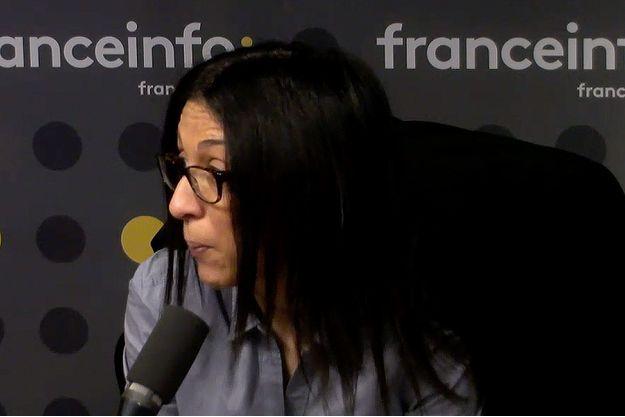 Henda Ayari sur France Info lundi matin.