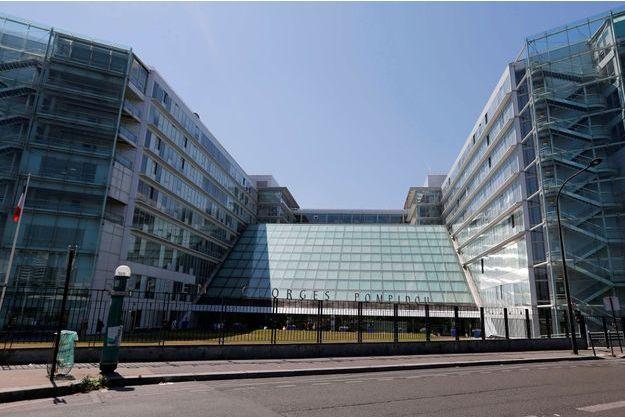 L'hôpital Georges Pompidou, à Paris.