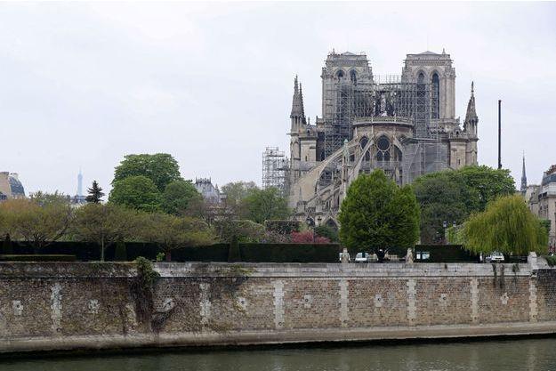 Notre-Dame de Paris, ce mardi.