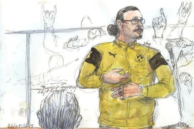 Jawad Bendaoud a été condamné mercredi en appel à Paris.