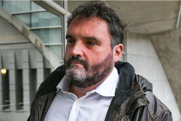 Frédéric Péchier, le 12 juin 2019 au tribunal, à Besançon.
