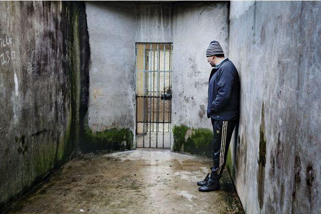 Enfermés dehors. Les prisonniers placés en quartier disciplinaire ou à l'isolement passent entre une et deux heures par jour dans cette cour, seuls.