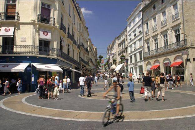 Place de la Comédie à Montpellier. Image d'illustration.