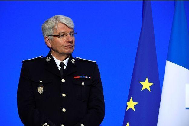 Le directeur général de la police nationale Éric Morvan.