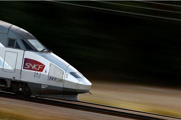 Un TGV (image d'illustration).