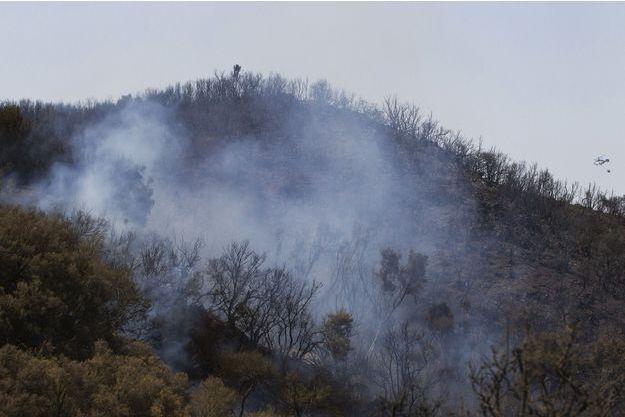 Un incendie en Espagne en 2012. Image d'illustration.