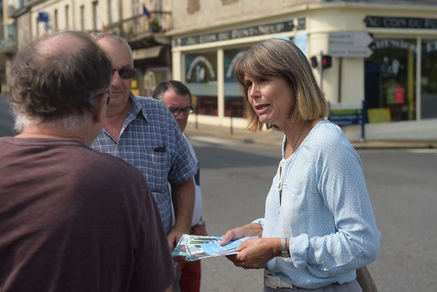 Jacqueline Dubois, députée LREM, en juin 2017.