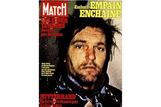 La célèbre couverture de Paris Match lors de l'enlèvement du Baron Empain.
