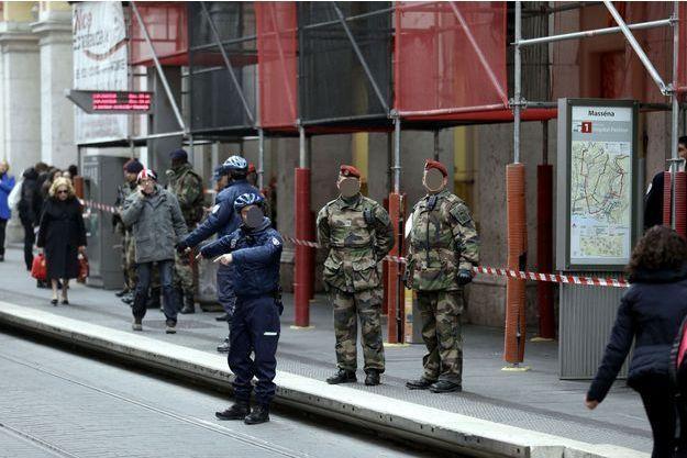 L'agression a eu lieu à Nice, près de la place Masséna.