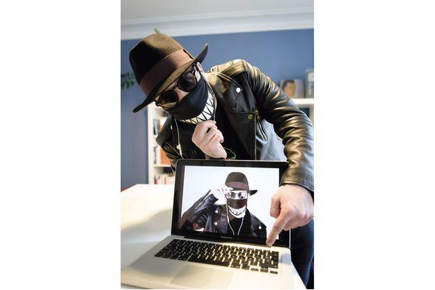 """""""Rabbin des bois"""", l'un des pirates français les plus renommés sur le Net."""