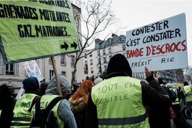 Manifestation à Paris le 2 février.