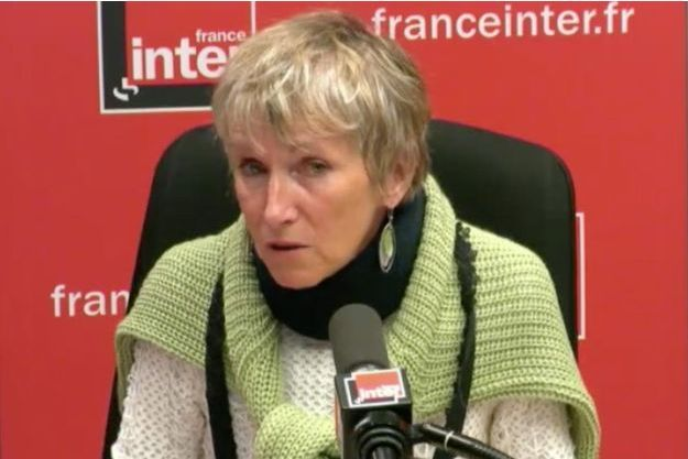 Anne Bert, sur France Inter mercredi.