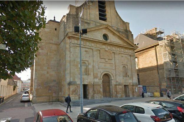 La cérémonie religieuse s'est déroulée en l'église Saint-Dagobert, à Longwy.