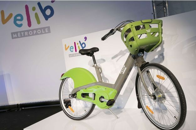 Le futur Vélib, qui doit arriver le 1er janvier à Paris et dans les communes voisines.