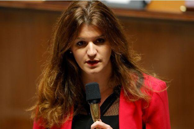 Marlène Schiappa à l'Assemblée nationale en novembre dernier.