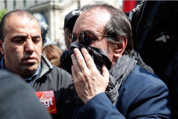 Philippe Martinez, à Paris le 1er mai.
