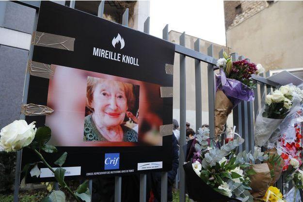 Mireille Knoll a été tuée le 23 mars 2018.