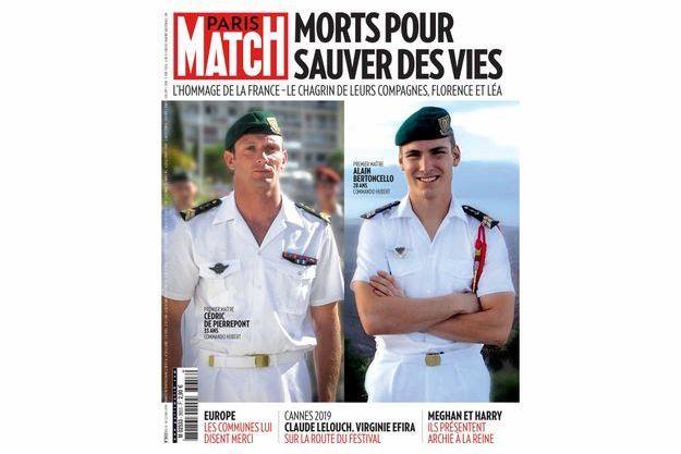 La Une du numéro 3653 de Paris Match.