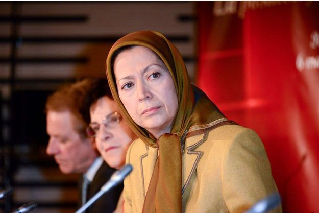 Maryam Radjavi, la leader du mouvement.