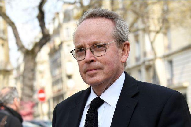 Renaud Donnedieu de Vabre à Paris, le 2 avril.