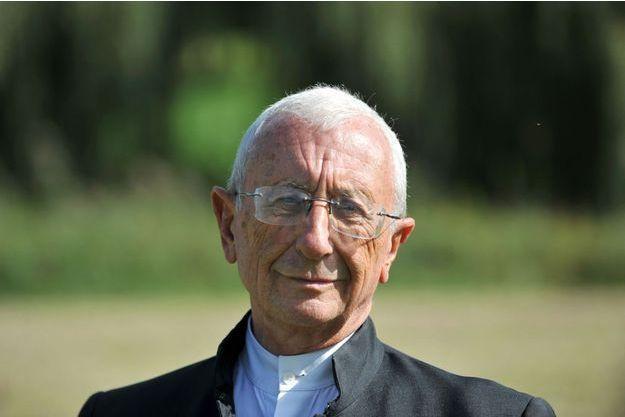 L'abbé Alain de la Morandais ici en 2011.