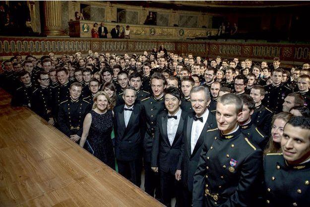 L'Opéra royal transformé en nid à polytechniciens.