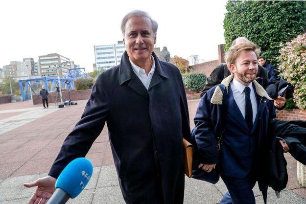Georges Tron mardi, au tribunal de Bobigny.