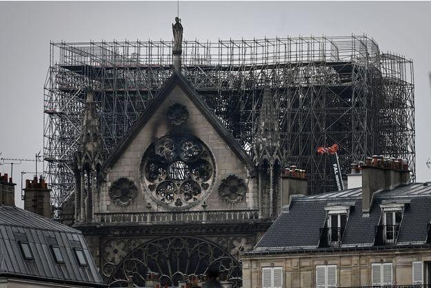 La cathédrale Notre-Dame de Paris, mardi.