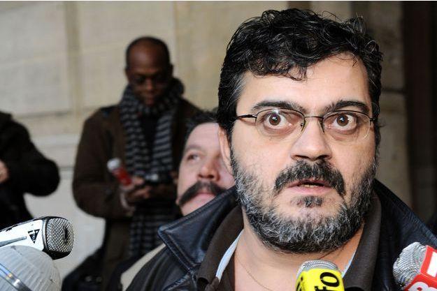 Le secrétaire général de FO Transports, Gérard Martinez.