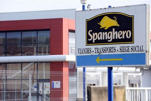 L'usine Spanghero en 2013.