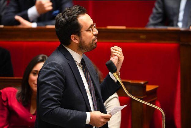 Mounir Mahjoubi à l'Assemblée nationale le 20 février dernier.