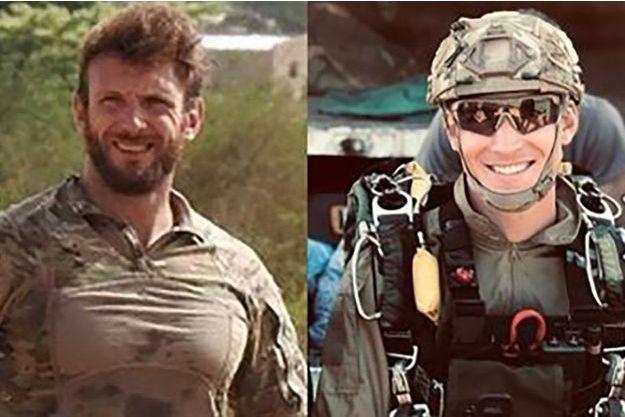 Le maître Cédric de Pierrepont et le maître Alain Bertoncello, membres du commando Hubert -unité d'élite de la Marine française- sont décédés lors de la libération d'otages au Burkina-Faso, vendredi 10 mai.
