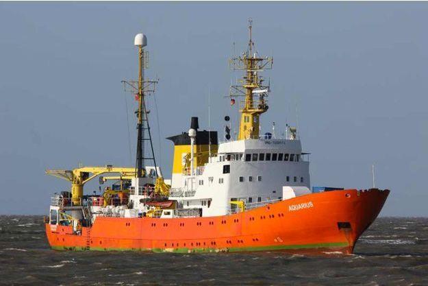 L'Aquarius débutera sa mission de sauvetage le 25 février.
