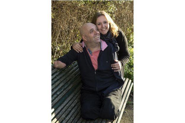Le couple en février dernier. Ils viennent de publier « Ma vie pour deux », rédigé avec Emmanuelle Dal'Secco, éd. Arthaud. Ce livre bouleversant et très concret a servi d'exutoire aux souffrances de Suzana.