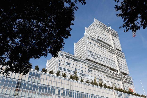 Le TGI de Paris est le plus grand d'Europe : un monument signé Renzo Piano.