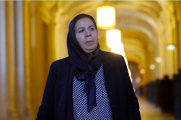 Latifa Ibn Ziaten en 2017, à Paris.