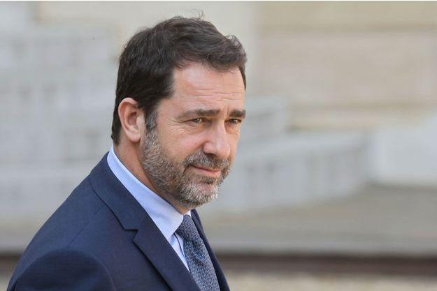 Christophe Castaner, le 1er avril 2019.