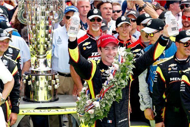 Simon Pagenaud a remporté les 500 miles d'Indianapolis.