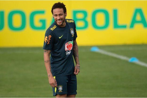 Neymar, en mai 2019 au Brésil.