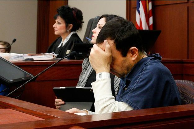 Le docteur Larry Nassar mardi lors de son procès.