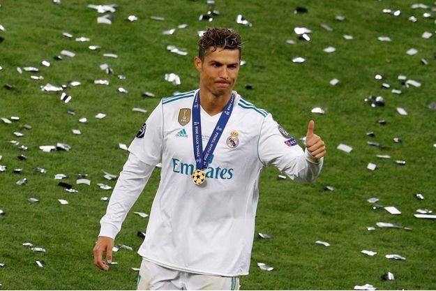 Cristiano Ronaldo samedi soir à Kiev.
