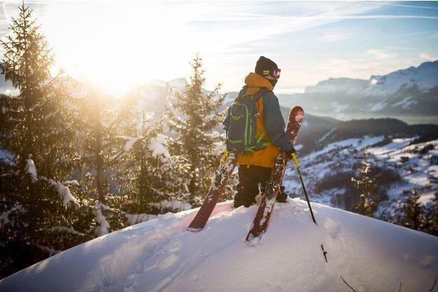 Le skieur français Candide Thovex.