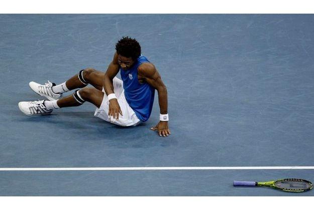 Gaël Monfils n'a rien pu faire contre Djokovic.