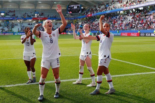 Les Américaines se sont imposées face à l'Espagne (2-1).