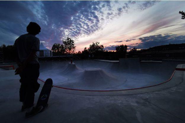 Le nouveau bowl du CosaNostra Skatepark
