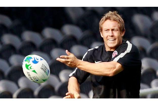 Jonny Wilkinson, joueur de l'équipe d'Angleterre