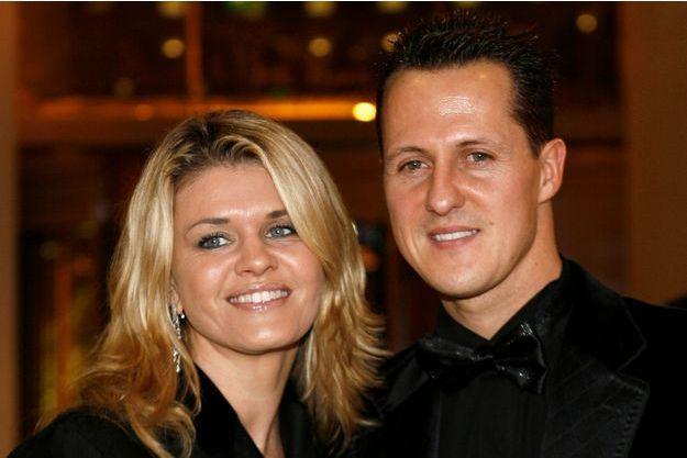 Michael Schumacher et sa femme Corinna, en 2006.