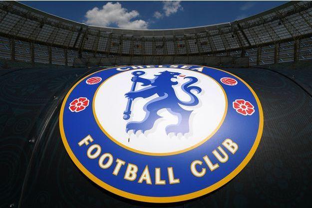 Le logo du club de Chelsea FC.