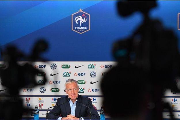 Didier Deschamps jeudi en conférence de presse